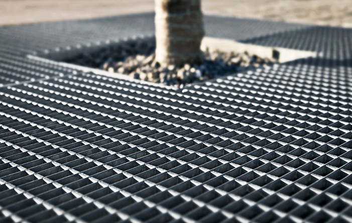 Lake Phoenix - tree protection gratings